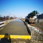FOTO Veste bună pentru navetiști. Se construiește un peron modern la Parc Mogoșoaia