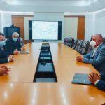 Contractele pentru linia ferată Buzău-Făurei au fost semnate în prezența ministrului Cătălin Drulă
